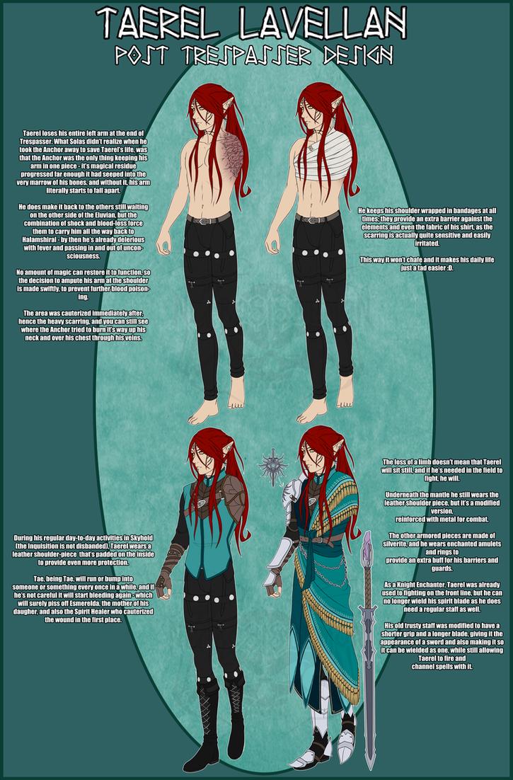 DAI - Taerel post Trespasser design by NecrosisDemon