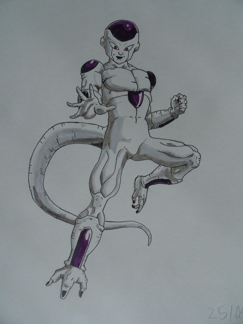 Everyone's favourite space slumlord, Freeza by TV-Yojimbo