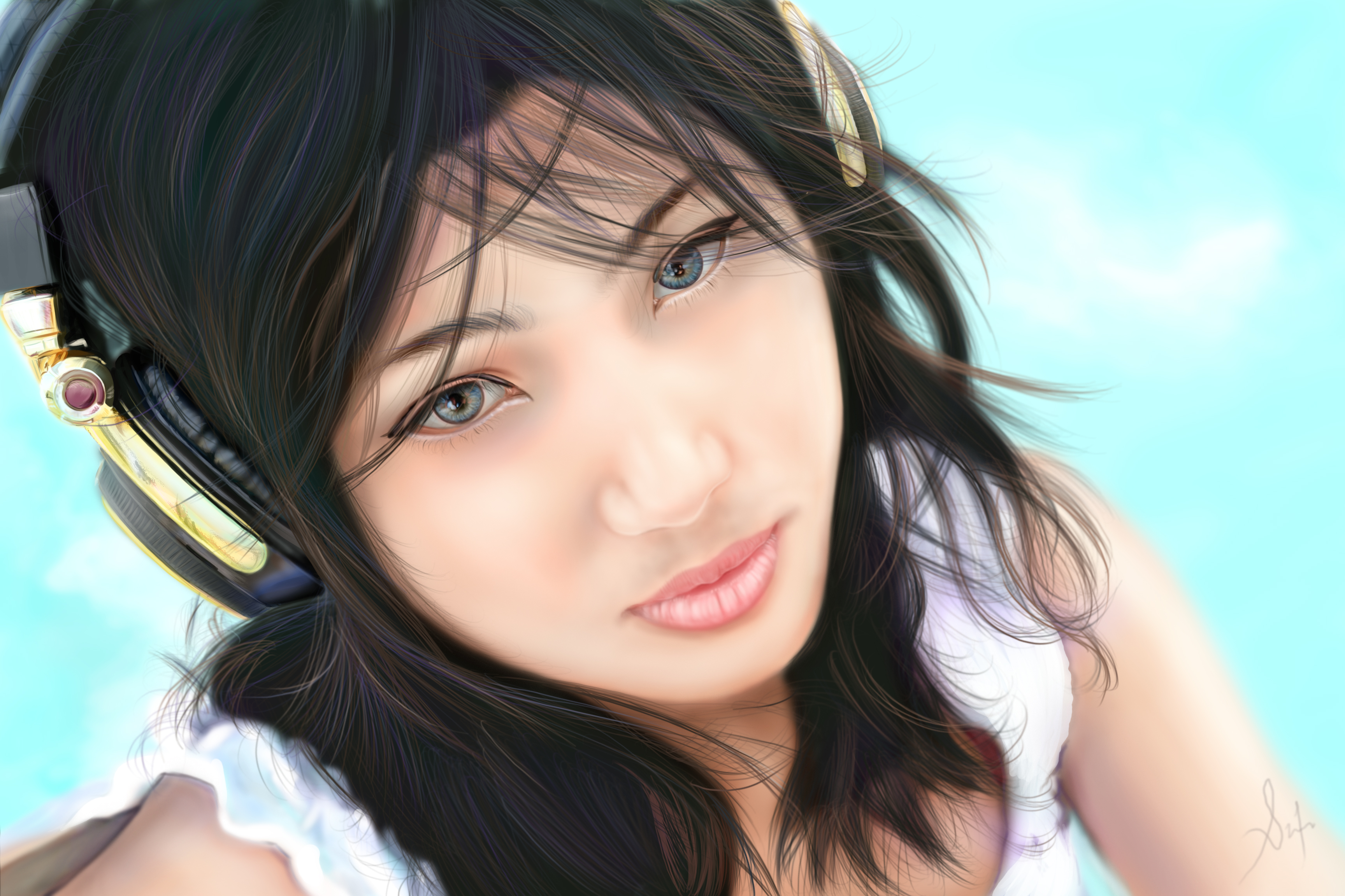 Japanese Girl by SidneiSimmon on DeviantArt