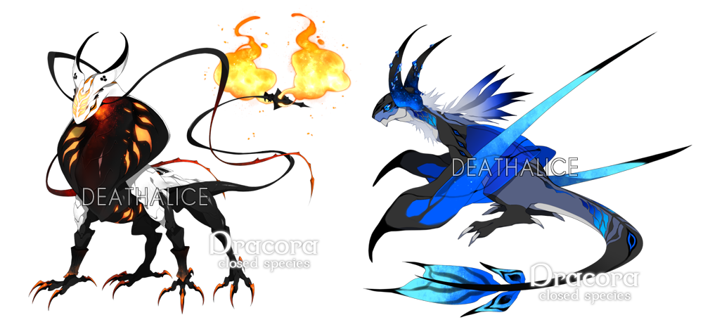 dracora dragon forms by deathalice on deviantart