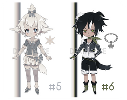 Male Adopt 5 and 6 (1 LEFT EXTRA ADDED)