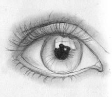 sketch eye by iOptimusPrime