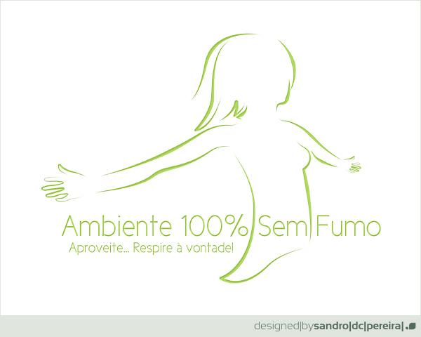 Ambiente Sem Fumo - Logo by sandrodcpereira