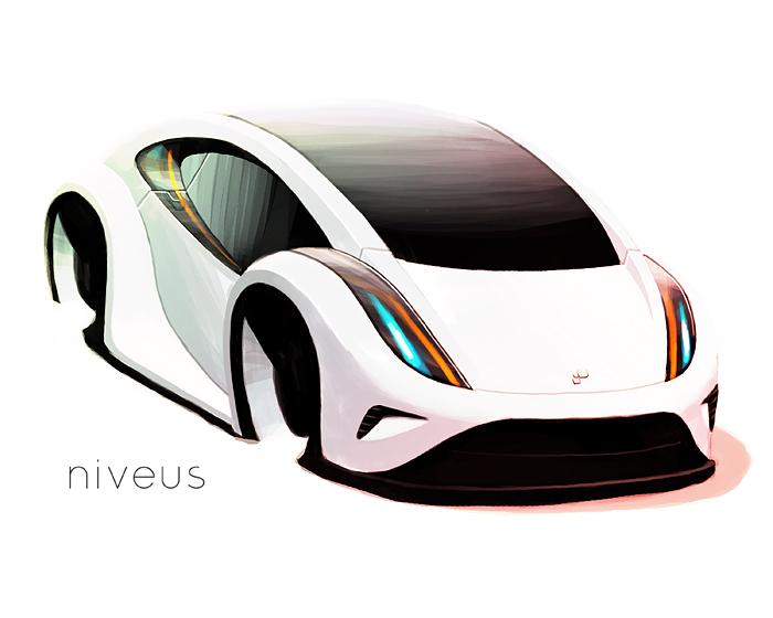 Niveus Concept Car by sandrodcpereira