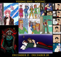 VEXING SINS VOTING by Evo-Obsessed-Club