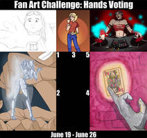 CHALLENGE: HANDS VOTING by Evo-Obsessed-Club