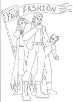 CONTEST FAUX FASHION by Evo-Obsessed-Club