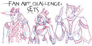 FAN ART CHALLENGE: SETS