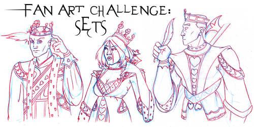 FAN ART CHALLENGE: SETS by Evo-Obsessed-Club