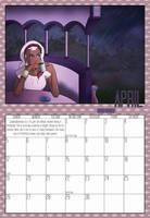 2009 Calendar - April by Evo-Obsessed-Club