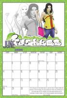 2009 Calendar - June by Evo-Obsessed-Club