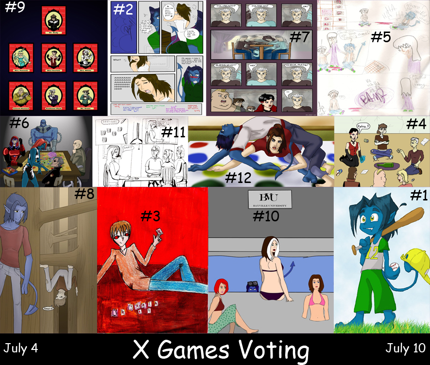 CONTEST X-GAMES VOTING by Evo-Obsessed-Club