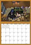 2009 Calendar - October by Evo-Obsessed-Club