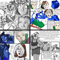 Evo RoundRobin Comic pgs 5 - 8 by Evo-Obsessed-Club