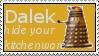 Dalek the baker-plumber by Dreameryuki