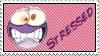 Stressed Stamp by Dreameryuki