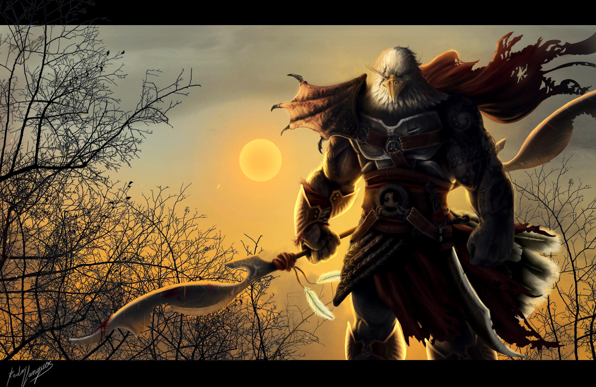 Eagle Warrior by IFANGUER on DeviantArt