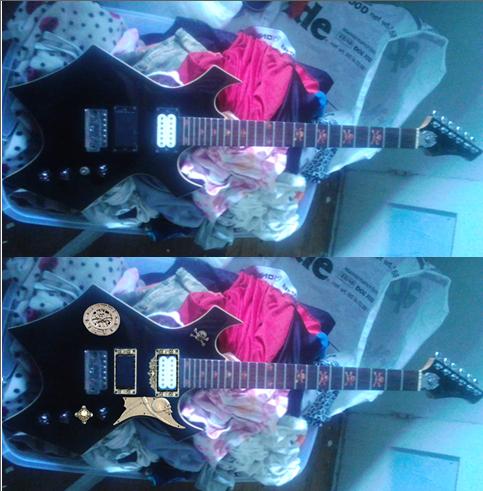 Guitar by blake7who