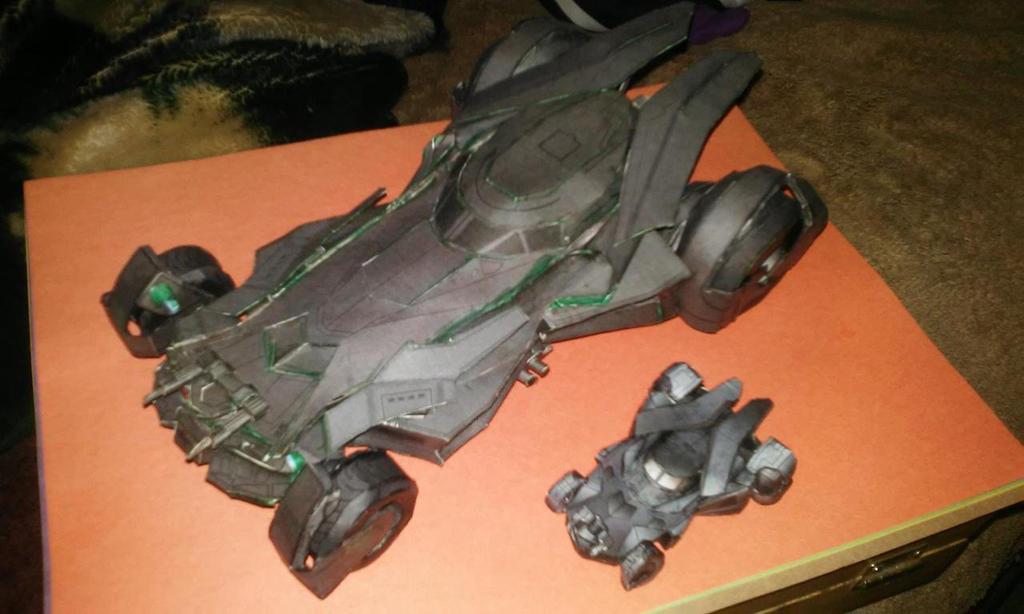 2015 Batmobiles wongday and airdave by blake7who