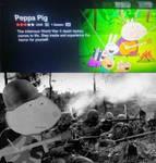 Peppa Pig is a war veteran