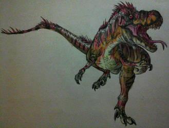Jurassic World: Diabolus Rex by Alien-Psychopath