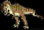 Jurassic Park: Female Tyrannosaurus rex