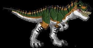 Jurassic Park: Tyrannosaurus rex V.2