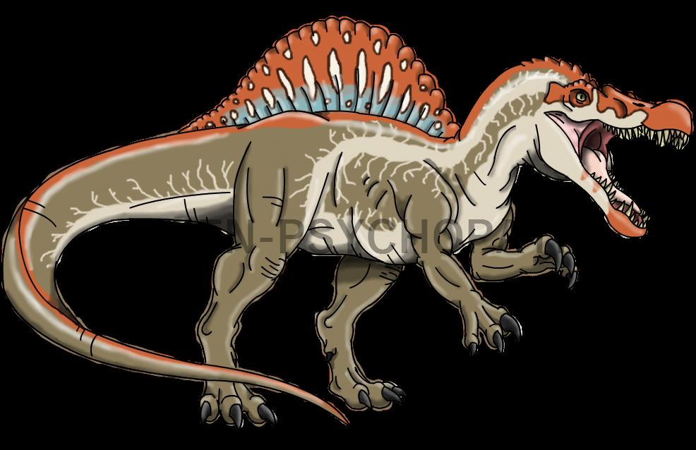 Jurassic Park: Spinosaurus by Alien-Psychopath on DeviantArt
