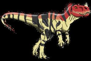 Jurassic Park: Ceratosaurus by Alien-Psychopath