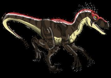 Jurassic Park: Male V.sornaiensis by Alien-Psychopath