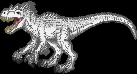 Jurassic World: Indominus rex by Alien-Psychopath
