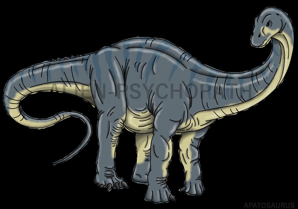 Jurassic World: Apatosaurus by Alien-Psychopath on DeviantArt
