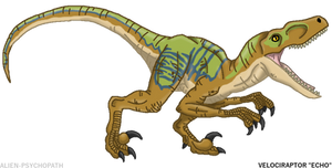 Jurassic World: Raptor Squad - Echo