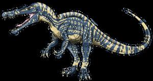 Jurassic World: Suchomimus by Alien-Psychopath
