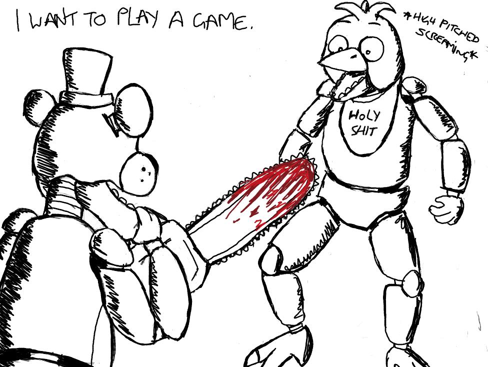FnaF Freddy NO By Alien Psychopath On DeviantArt