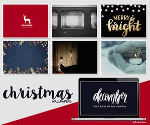 Christmas wallpapers (desktop) by PelushitaPetisuit