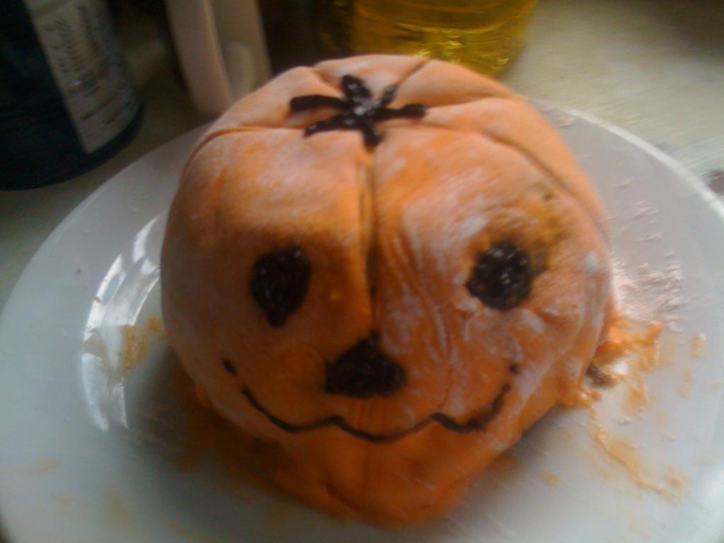 Pumpkin Cake by fairybatkat