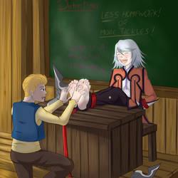 Detention for you sensei by codricor1