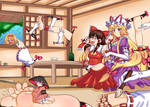 Silly Squirming Shrine Maiden / Patreon September