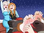 Frozen season warm feet / Patreon December