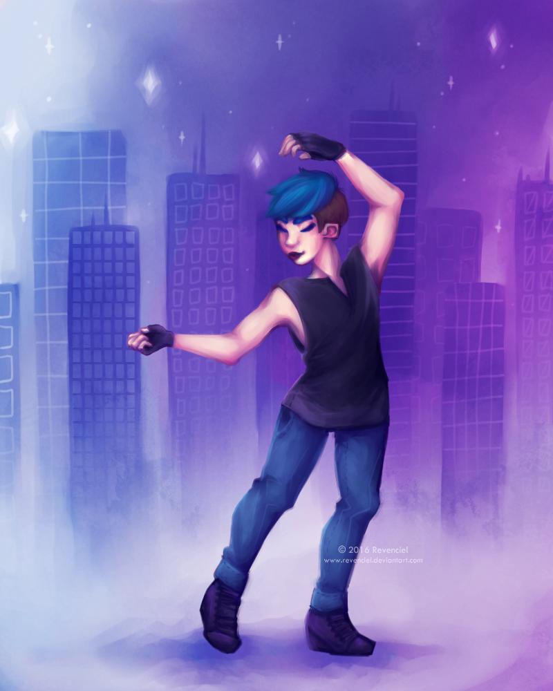 Dancing Giant by Revenciel