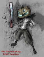 Cyborg Pumpkinhead by Zaeta-K