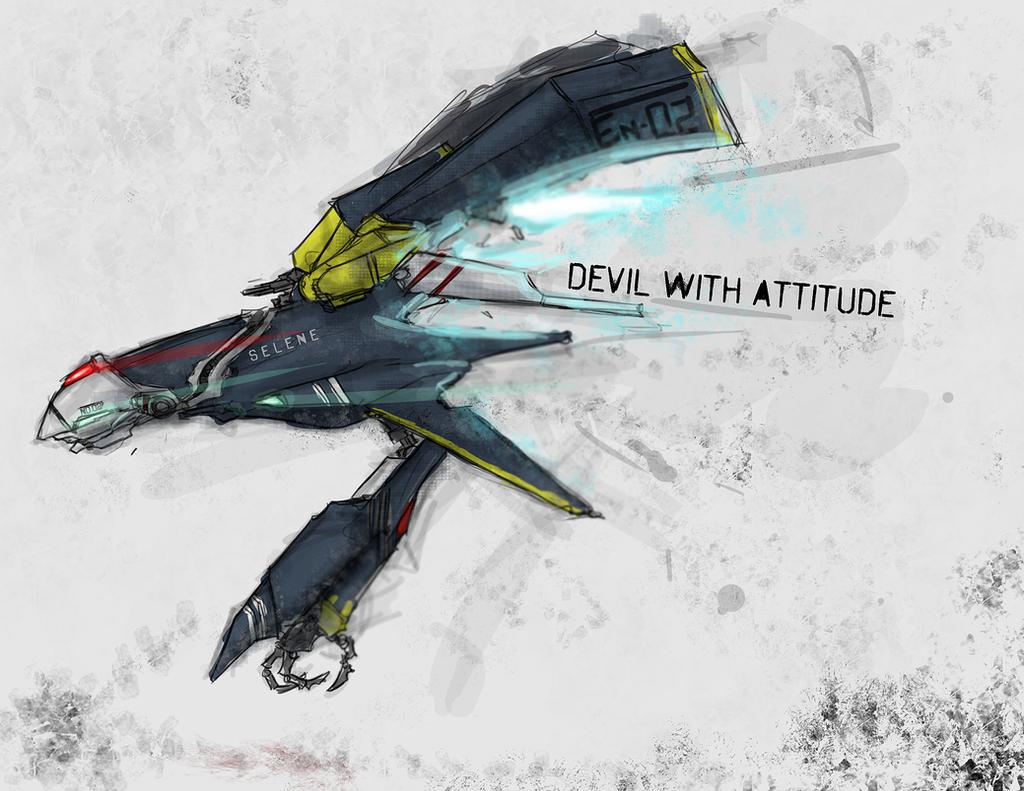 Devil With Attitude by Zaeta-K