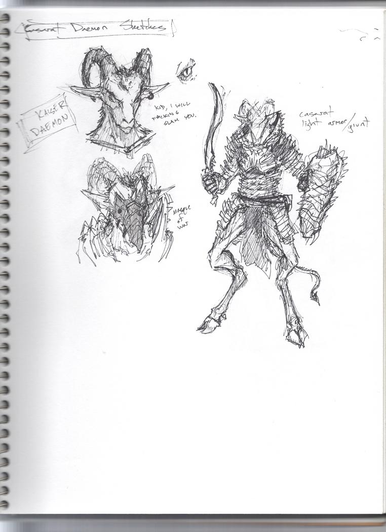 Sketchbook 9, p1 by Zaeta-K