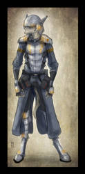 Dusk Legion Soldier by Zaeta-K