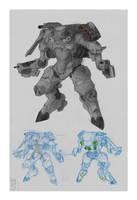 'Monster' - Powered Armor by Zaeta-K