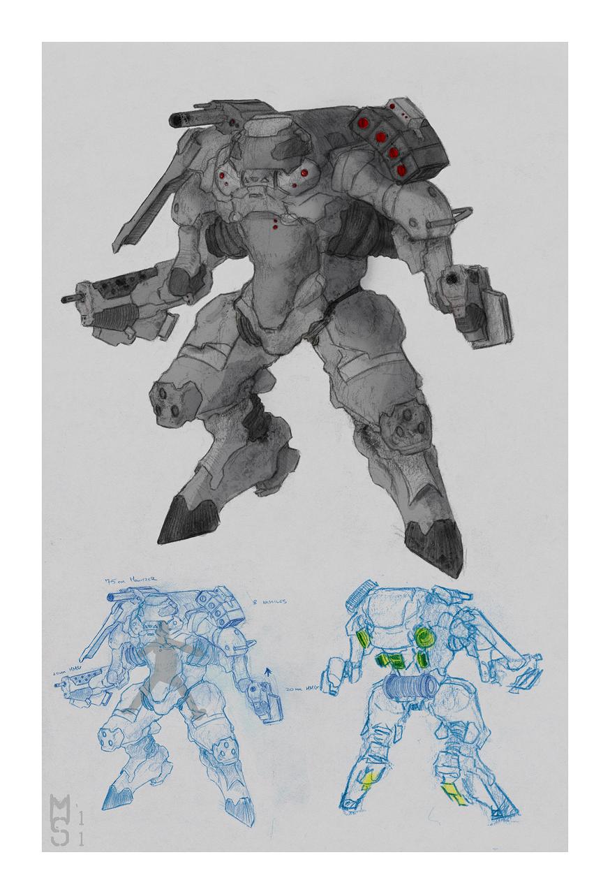 """""""Monster"""" - Powered Armor by Zaeta-K"""