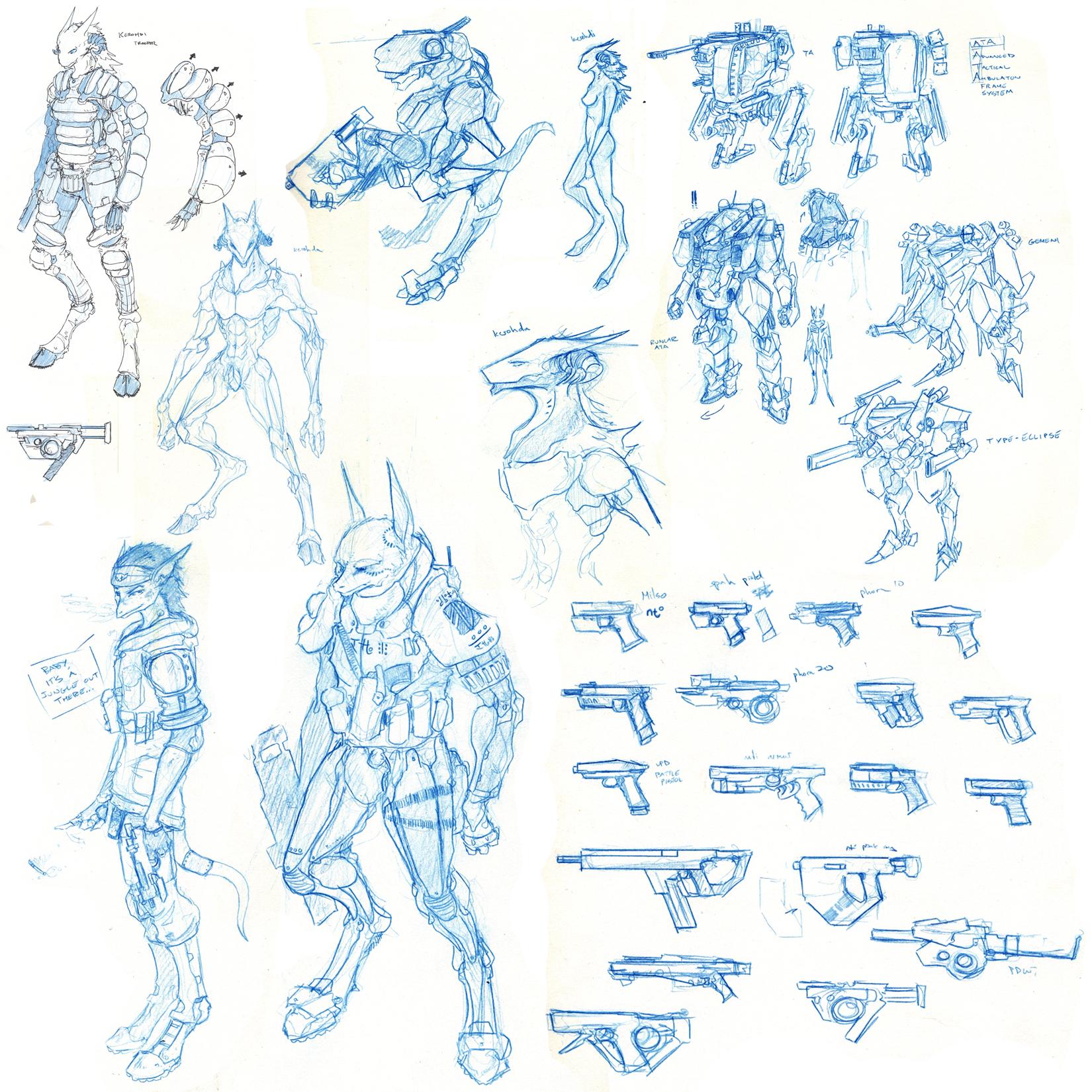 Giant Sketch Dump III by Zaeta-K