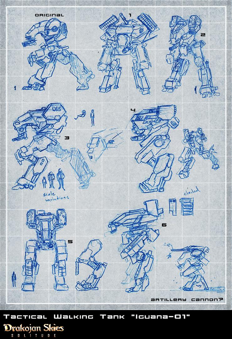 DS:S [T.W.T. Iguana-1 Concepts] by Zaeta-K