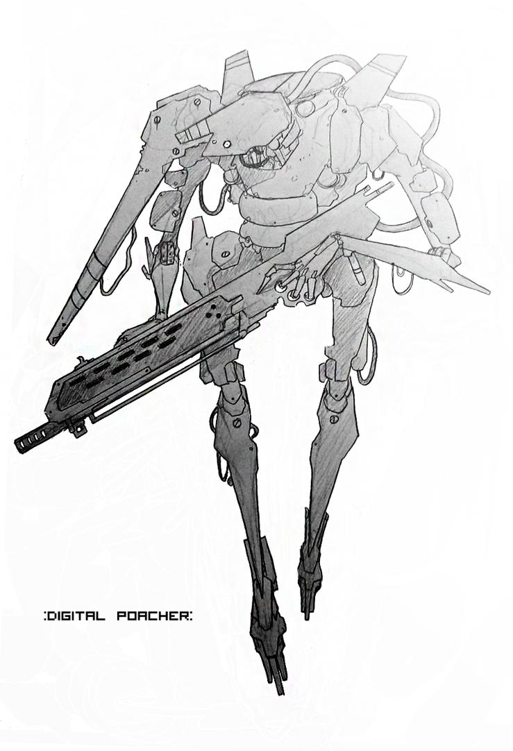 Digital Poacher by Zaeta-K